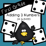 Adding 3 Numbers Activities
