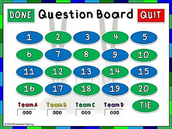 Adding 3 Numbers Practice PPT Game