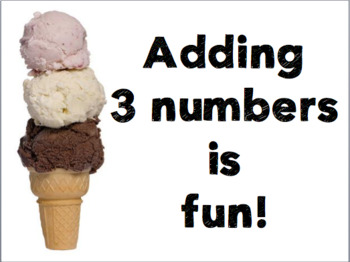 Adding 3 Numbers is Fun!