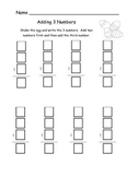 Adding 3 Numbers with Dice