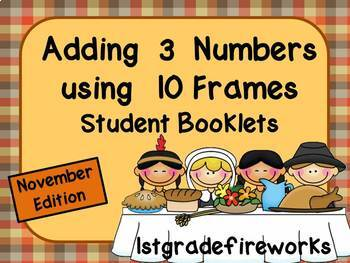 Adding 3 Numbers..Student Booklets..November Edition