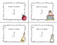 Adding 3 One-digit Numbers- Math Task Cards- 2nd Grade -School Theme