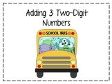 Adding 3 Two-Digit Numbers