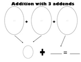Adding 3 addends