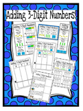 Adding 3-Digit Numbers: Reference Charts, Work Mats, & Dif