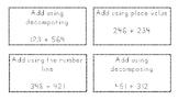 Adding 3 digit numbers