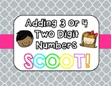 Adding 3 or 4 2-Digit Numbers Scoot