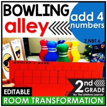Adding 4 2-Digit Numbers | Second Grade Bowling Classroom Transformation