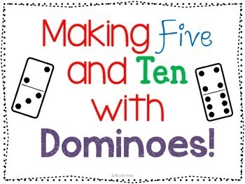 Adding 5 and 10 with Dominoes!