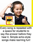Adding 5+1 to 5+9 Song MP3 from Addition Songs - Audio Memory / Kathy Troxel