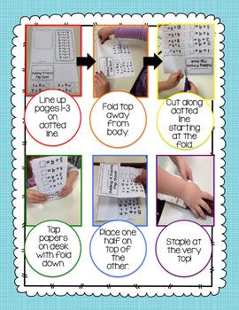 Adding 9 Facts Flip Book