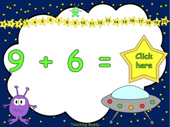 Adding Aliens - Adding Numbers to 20