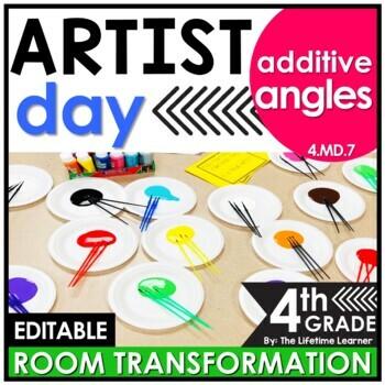 Adding Angles | 4th Grade Artist Classroom Transformation