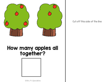 Adding Apples Interactive Book FREEBIE (Special Ed. & Autism Resource)