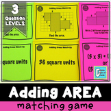 Adding Areas Matching Activity Game