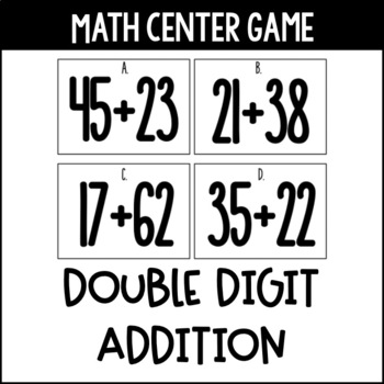 Adding Around The Room - Double Digit Addition