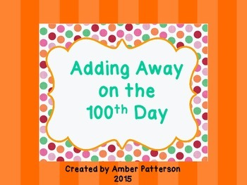 Adding Away on the 100th Day- Mystery Picture