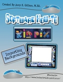 Adding Backgrounds to Kid Pix How to Instructions