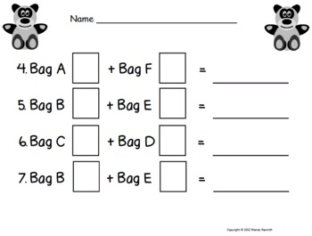 Adding Bears Math