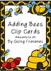 Adding Bees Clip Cards