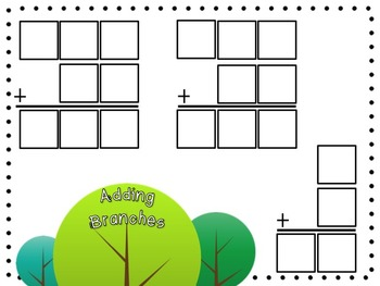 Adding Branches [EDITABLE MATH TILE GAME templates]