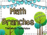 Adding Branches [EDITABLE MATH TILE GAME templates]