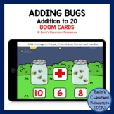 Adding Bugs Boom Cards (Distance Learning)