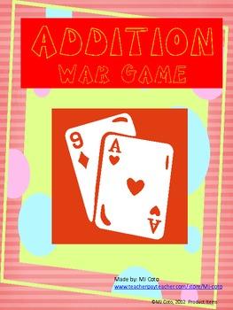 Adding Cards War Game