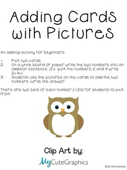 Adding Cards with Pictures