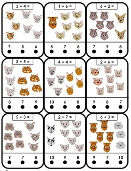 Adding Cats self-checking cards