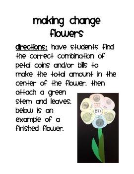 Adding Change Flower