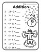 Adding Christmas Addition Worksheets Christmas Math Worksheets Christmas Math