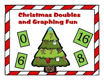 Christmas Addition using Doubles and Graphing Fun
