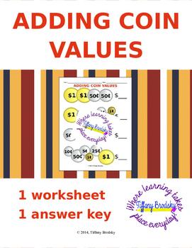 Adding Coin (Money) Values
