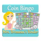 Money Math - Adding Coins Bingo Cards - 30 Unique Cards!