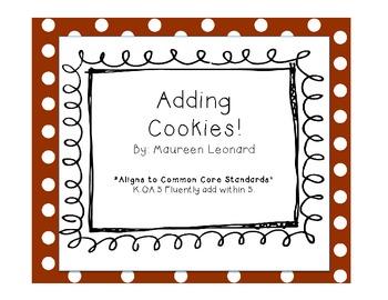 Adding Cookies! Aligned to Common Core!