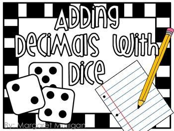 Adding Decimal with Dice