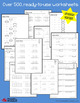 Adding Decimals Worksheets with Answer Keys (Updated Versi