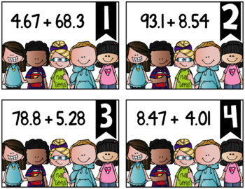 Adding Decimals {a Problem of the Day Intervention}