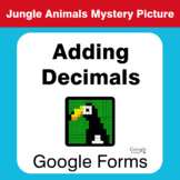 Adding Decimals - Animals Mystery Picture - Google Forms
