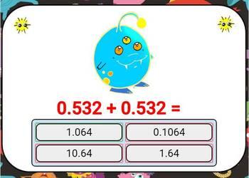 Adding Decimals Digital Boom Cards Eureka Math grade 5 unit 1 lesson 9