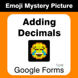 Adding Decimals - EMOJI Mystery Picture - Google Forms