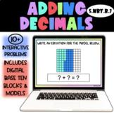 Adding Decimals - Interactive Google Slides - Distance Learning
