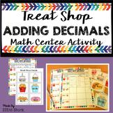 Adding Decimals Math Center Activity