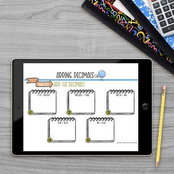 Adding Decimals Math Lab Intervention