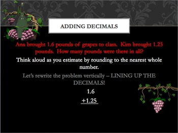 Adding Decimals Power Point