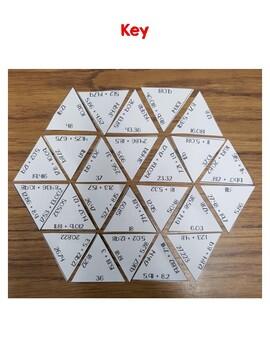 Adding Decimals Puzzle