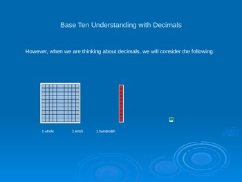 Adding Decimals Self Paced PowerPoint Learning Module