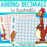 Adding Decimals to hundredths