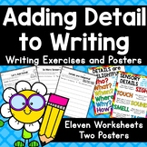 Adding Detail To Writing Exercises & Posters